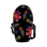 Pattern Design Messenger Bag