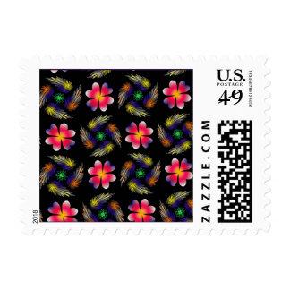 Pattern Design Postage