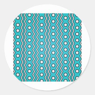 Pattern Design Series Classic Round Sticker