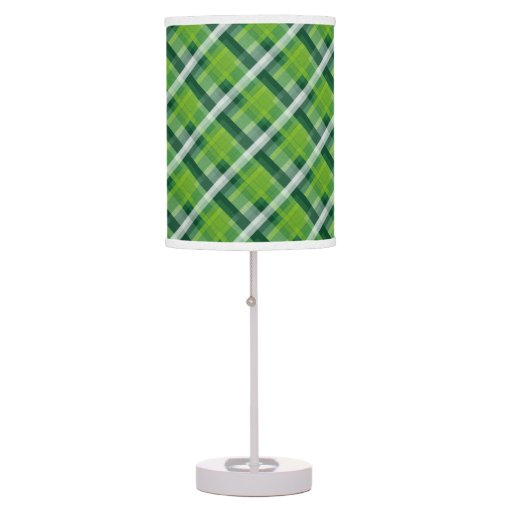 pattern desk lamp