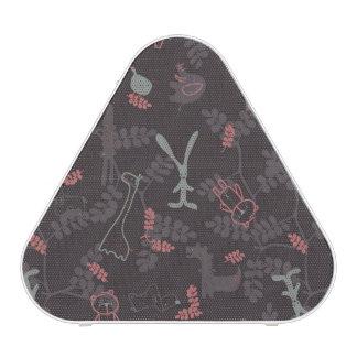 pattern displaying baby animals 1 bluetooth speaker