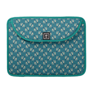 pattern displaying birds sleeve for MacBook pro