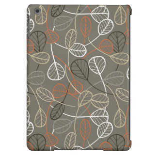 Pattern displaying leaves iPad air cases