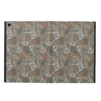 Pattern displaying leaves iPad air cover