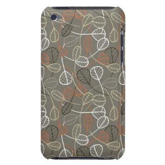 Pattern displaying leaves iPod Case-Mate cases