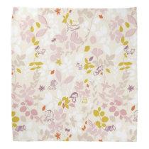 pattern displaying whimsical animals bandana