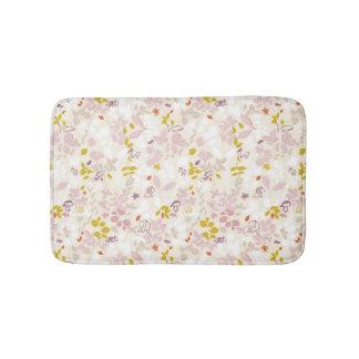pattern displaying whimsical animals bath mat