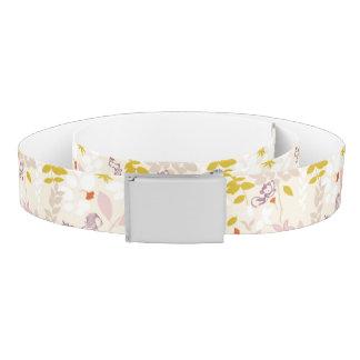 pattern displaying whimsical animals belt