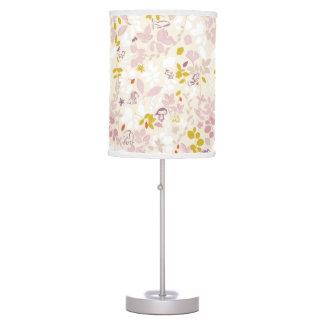 pattern displaying whimsical animals desk lamp