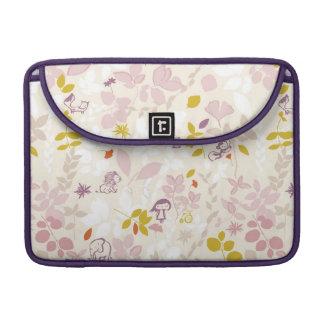 pattern displaying whimsical animals MacBook pro sleeve