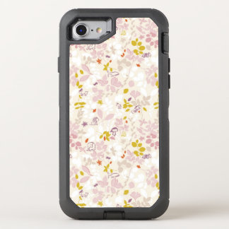 pattern displaying whimsical animals OtterBox defender iPhone 7 case