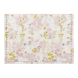 pattern displaying whimsical animals tyvek® card case wallet