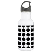 Pattern Dots Water Bottle
