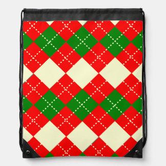 Pattern Drawstring Backpack