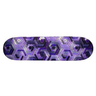 Pattern Factory 23 putple Skateboard Deck