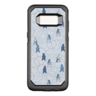pattern featuring a grizzly bear OtterBox commuter samsung galaxy s8 case