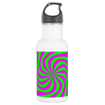 Pattern Fill Water Bottle