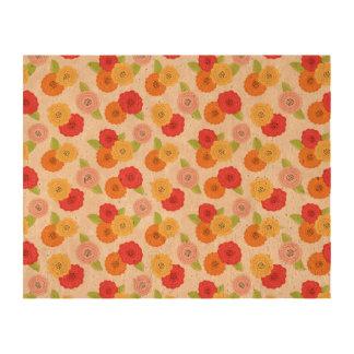 Pattern Flower Cork Cork Paper