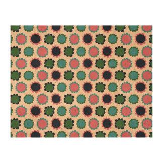 Pattern Flower Cork Cork Fabric