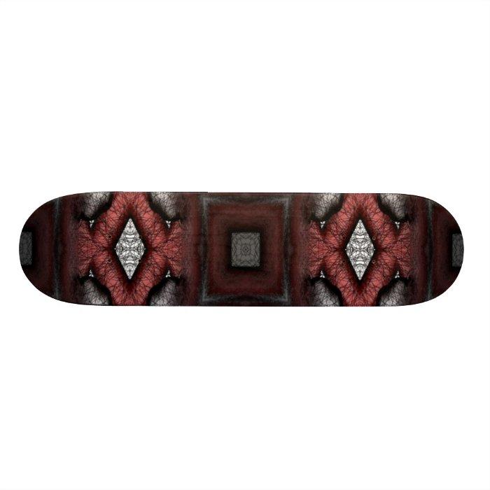 Pattern Foot Skateboard