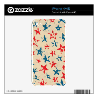 Pattern for 4th of July Skins For iPhone 4S
