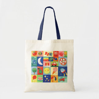 pattern for kids budget tote bag