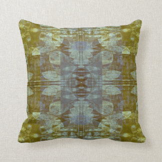 Pattern Gamut Allover Floral Abstract Throw Pillow