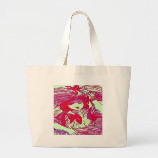 Pattern Girl Canvas Bag