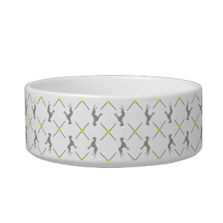 Pattern Great Danes Cat Food Bowl