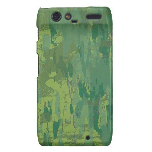 Pattern Green Jungle Camouflage Droid RAZR Case