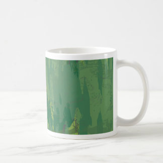 Pattern Green Jungle Camouflage Mugs