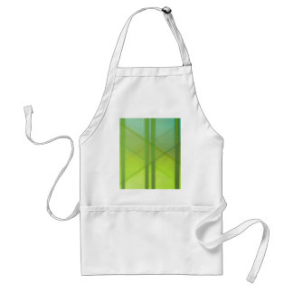 Pattern green no. 1 created by Tutti Adult Apron