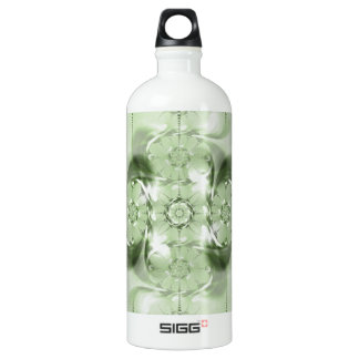 Pattern green no. 4 created by Tutti Aluminum Water Bottle