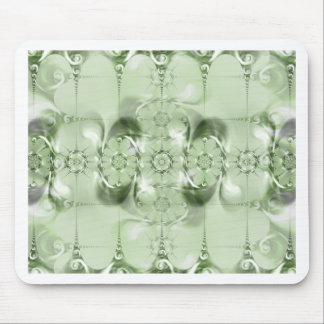 Pattern green no. 4 created by Tutti Mouse Pad