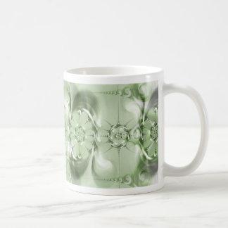 Pattern green no. 4 created by Tutti Mugs