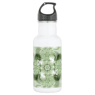 Pattern green no. 4 created by Tutti Stainless Steel Water Bottle