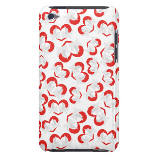 Pattern illustration peace doves with heart iPod Case-Mate case