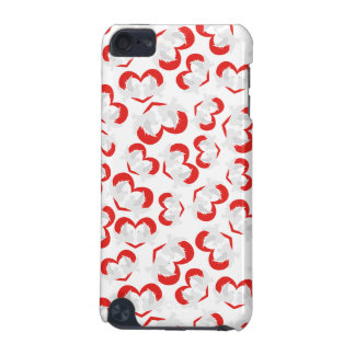 Pattern illustration peace doves with heart iPod touch (5th generation) case