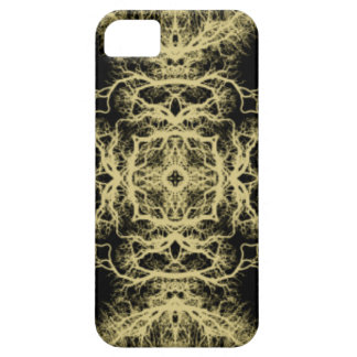Pattern in Black and Gold Color. iPhone SE/5/5s Case