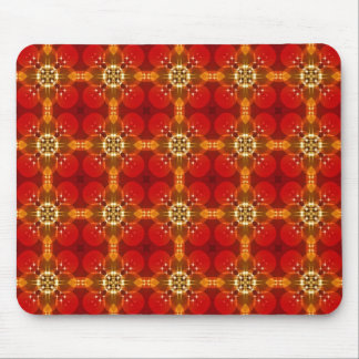 Pattern in Christmas colors Mouse Pad