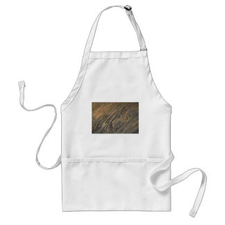 Pattern in driftwood, Malcolm Island, British Colu Adult Apron
