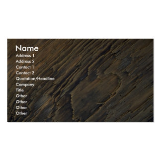 Pattern in driftwood, Malcolm Island, British Colu Business Card Templates