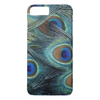 Pattern in male peacock feathers iPhone 8 plus/7 plus case