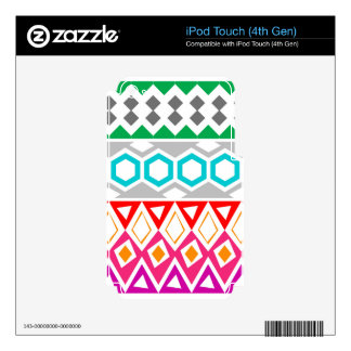 pattern.jpg decal for iPod touch 4G