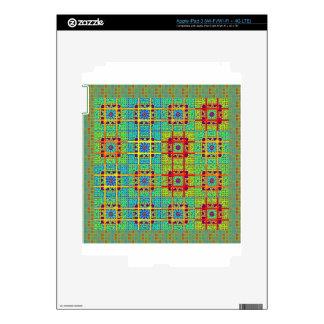 pattern.jpg tribal étnico maya iPad 3 pegatinas skins