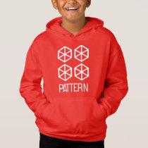 Pattern Kids' Fleece Pullover Hoodie