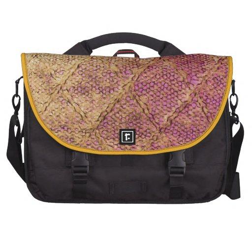 pattern laptop computer bag