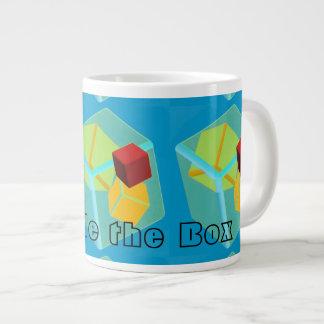 Pattern Large Coffee Mug