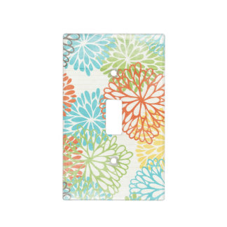 pattern light switches flowers light switch cover