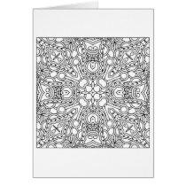 Pattern Mandala Card